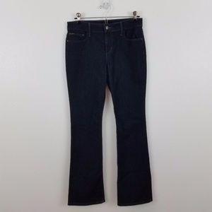 Joes jeans pants dark wash petite bootcut womens